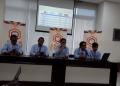 Konferensi pers yang digelar CSIS-Cyrus di Gedung Pakarti Centre.
