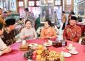 AHY saat silaturahmi ke Megawati soekarnoputri.