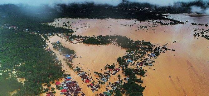Banjir Konawe Utara, Sulawesi Tenggara.(Foto:Antara)