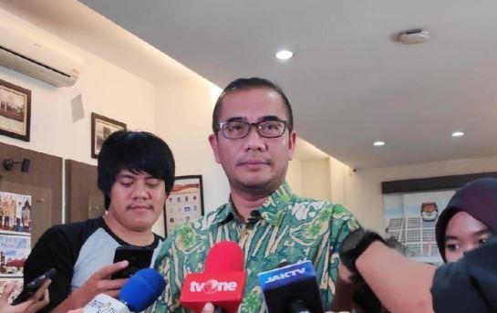 Komisioner KPU Hasyim Asyari.