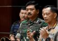Kapolri Jenderal Pol Tito Karnavian (kanan) dan Panglima TNI Marsekal TNI Hadi Tjahjanto. (Foto:ANTARA)