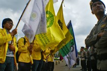 20130521 AljonAliSagara_BEM UI Demo Istana Negara 04