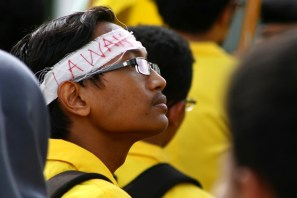 20130521 AljonAliSagara_BEM UI Demo Istana Negara 05