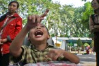 Yazid, Penyandang disabilitas anak berusia 6 tahun