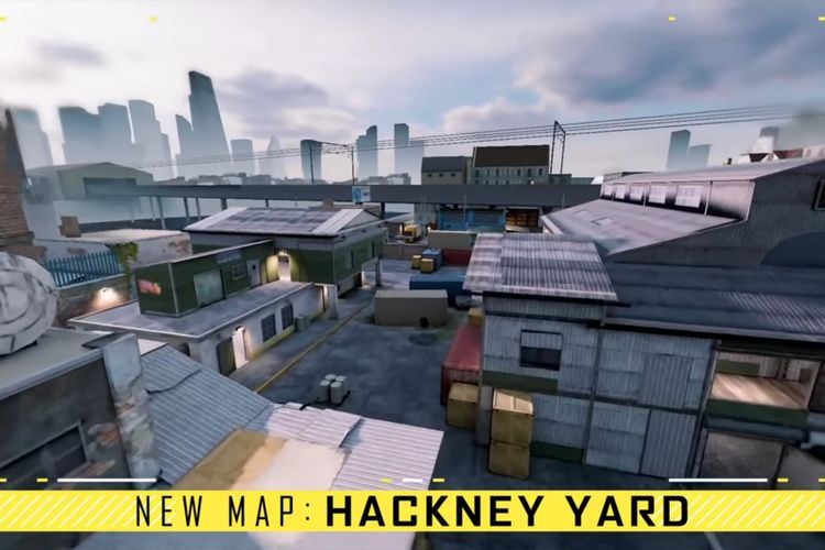 Peta mode Multiplayer terbaru di CODM bernama Hackney Yard.
