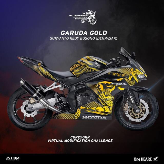 Modifikasi CBR250RR