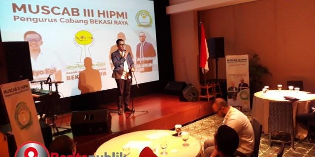 Lanjutkan Estafet Kepemimpinan, HIPMI Bekasi Raya Gelar Muscab