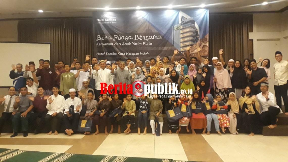 Hotel Santika Premiere KHI Bekasi Gelar Bukber di Lobi Utama Arena Hall