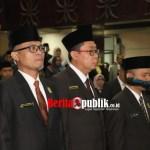 Ketua dan Wakil Ketua DPRD Kota Bekasi Resmi Dilantik Periode 2019 sampai 2024.
