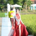 "Puteri Cilik Indonesia 2020, Angelique Jenavieve menjadi sorotan di Pagelaran ""When Culture Meet Nature"" yang digelar oleh sejumlah Kenamaan Indonesia di Svargabumi Borobudur Magelang pada Senin, (3/5)"