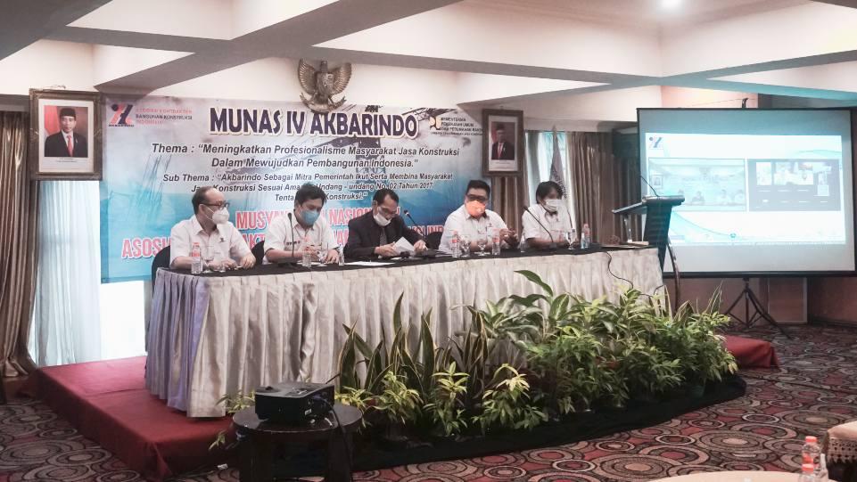 Suasana Munas IV Akbarindo pada Kamis, 8 April 2021 di Hotel Ambhara, Jakarta. (Dok. Istimewa)
