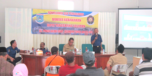 Acara Sosialisasi Damkar Tangsel Di Aula Kantor Pondok Kacang Barat