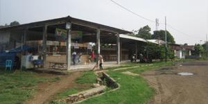 Loket Agen Bus di Terminal  Terpadu Pondok Cabe