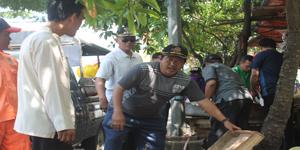 Penertiban PKL Yang Dilakukan Oleh Kecamatan Karang Tengah Dalam Rangka Menyambut ADIPURA (Foto: Bumi)