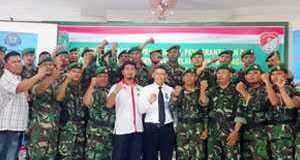 BNN dan TNI Foto Bersama