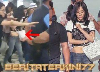 Insiden Taeyon SNSD Saat Tiba Di Bandara Jakarta