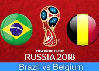 Prediksi Babak Perempat Final Piala Dunia Antara Brasil vs Belgia - Bandar Bola Online