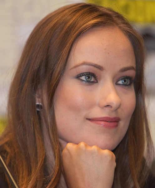 Olivia Wilde at a San Diego Comic-Con panel for Tron Legacy in July 2010.