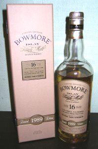 Bowmore 16 Cask
