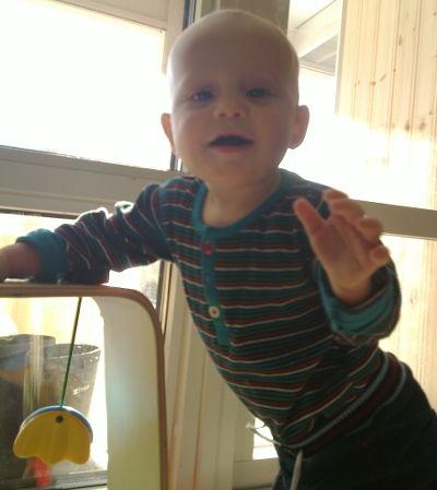 Felix 10 månader
