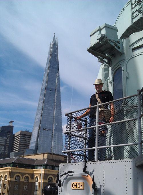 HMS Belfast and The Shard