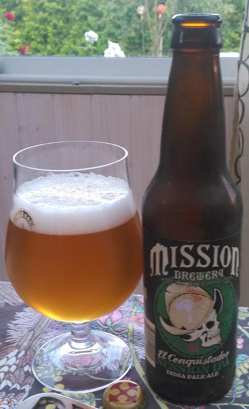 Mission El Conquistador Session IPA