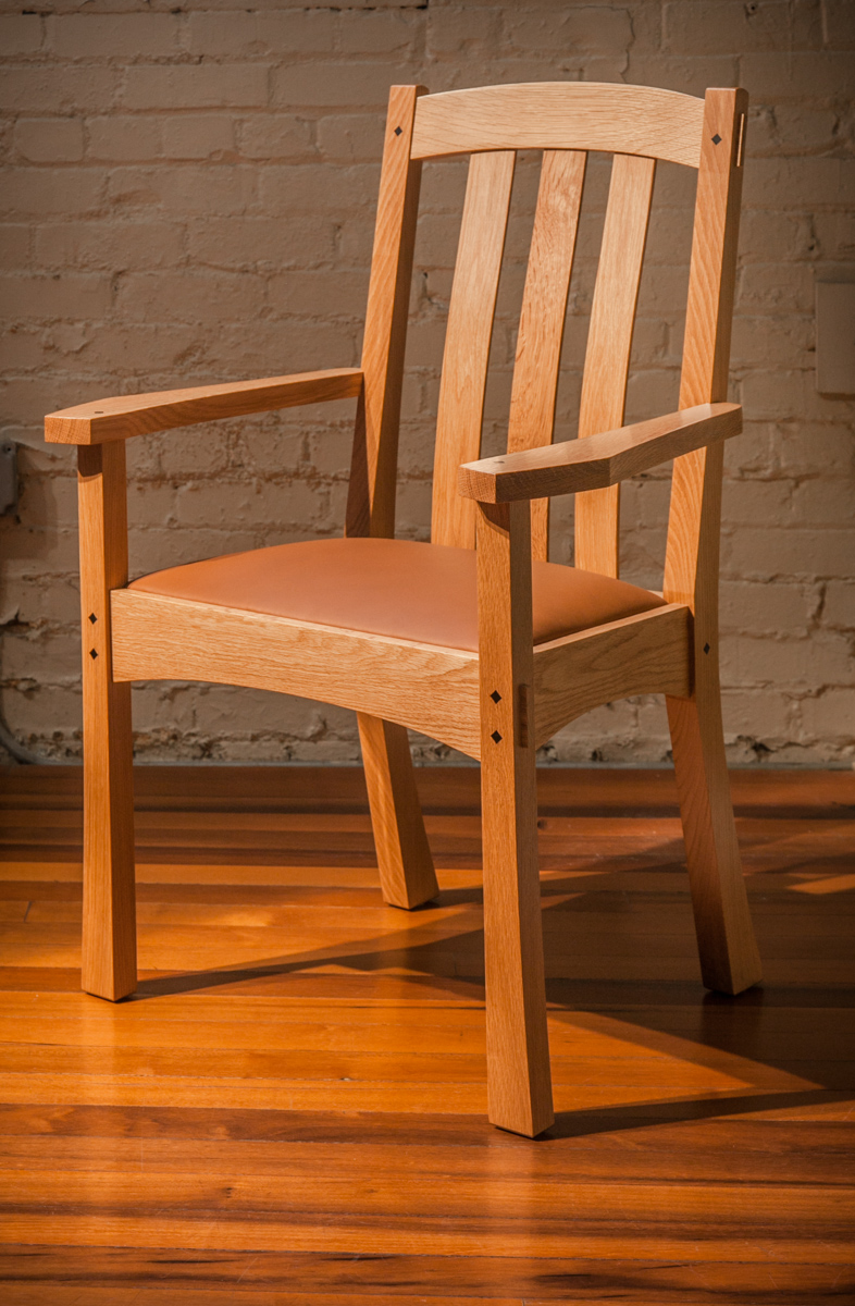 Arts Amp Crafts End Chair Lowback By Berkeley Mills