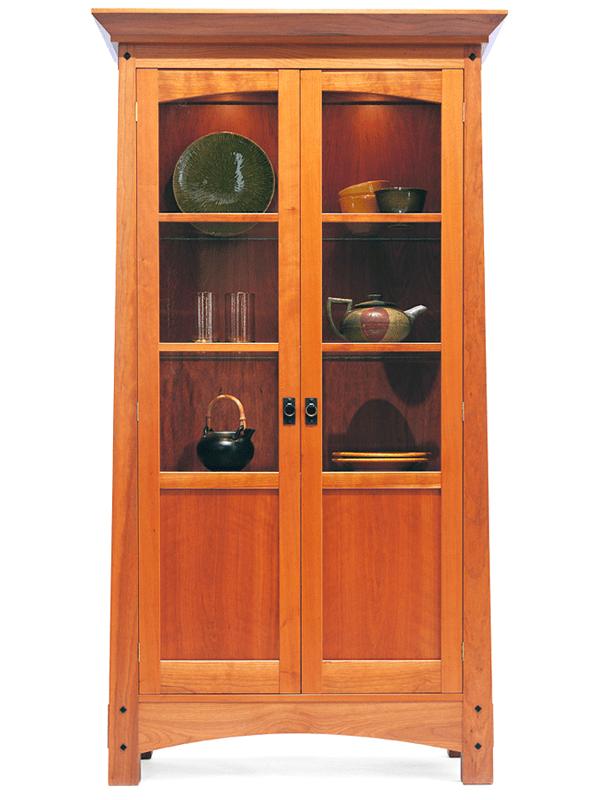 Arts Amp Crafts Curio Cabinet