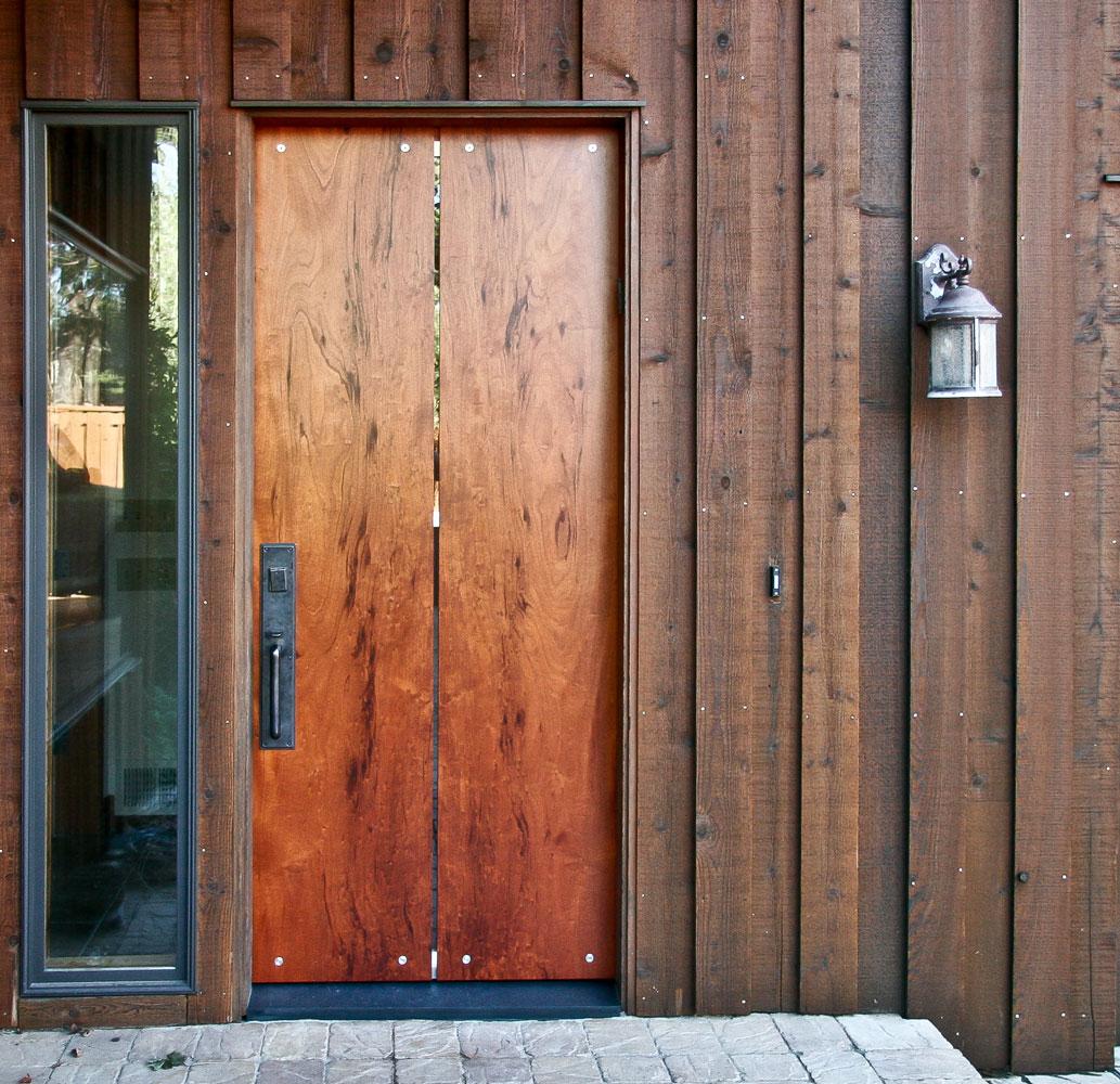 Custom Wood Slab Doors Bay Area Berkeley Mills