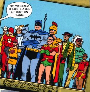 league of hereos batman
