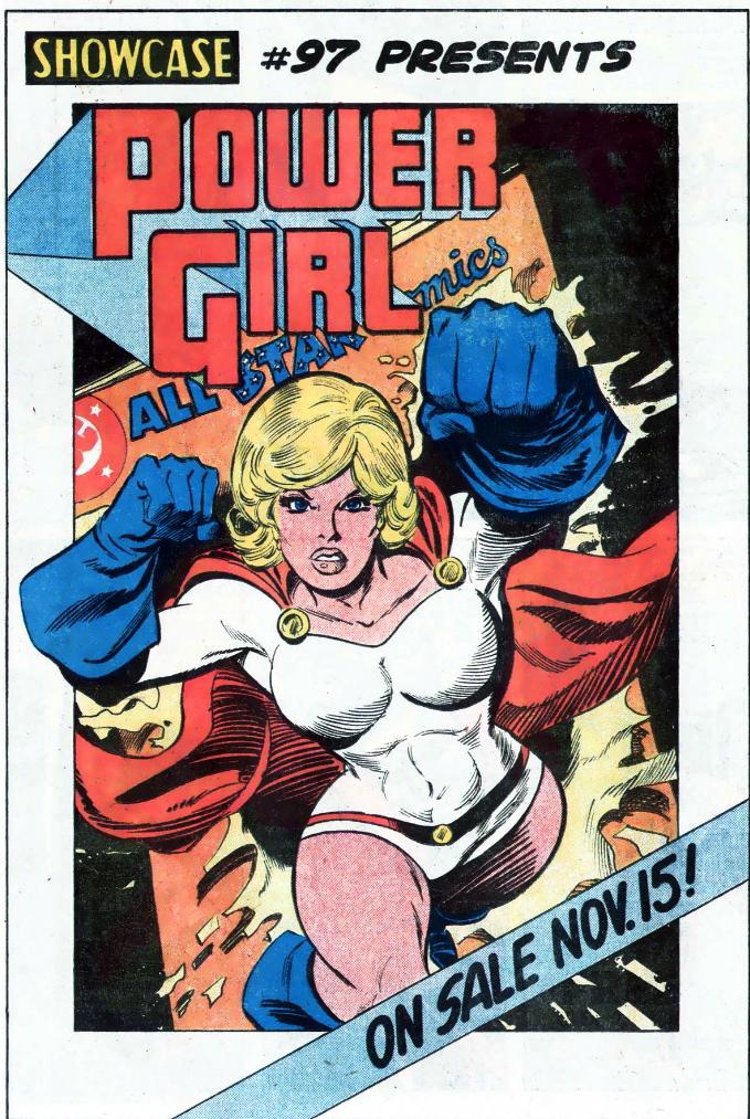 power girl boobs ad