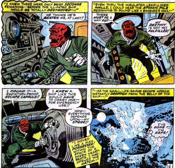 red skull stole hitlers escape plan