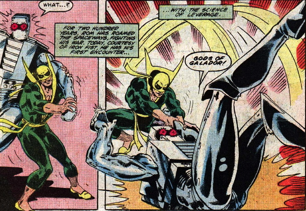 iron fist versus rom