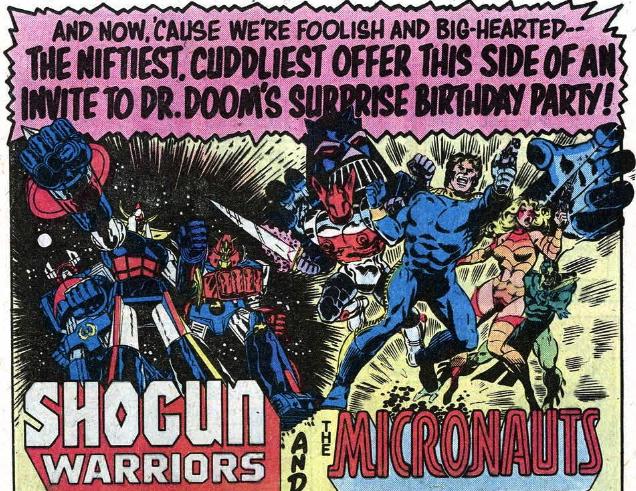shogun micronauts ad