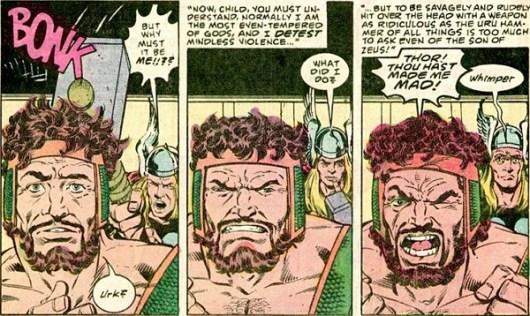 hercules vs thor bob layton 356