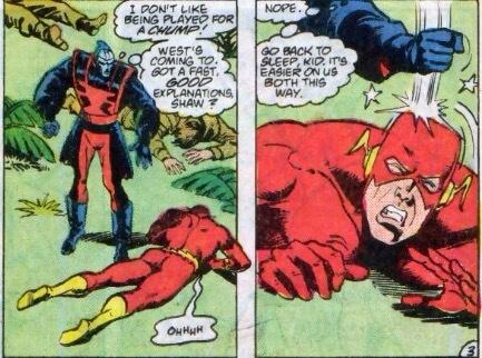 flash meets manhunter