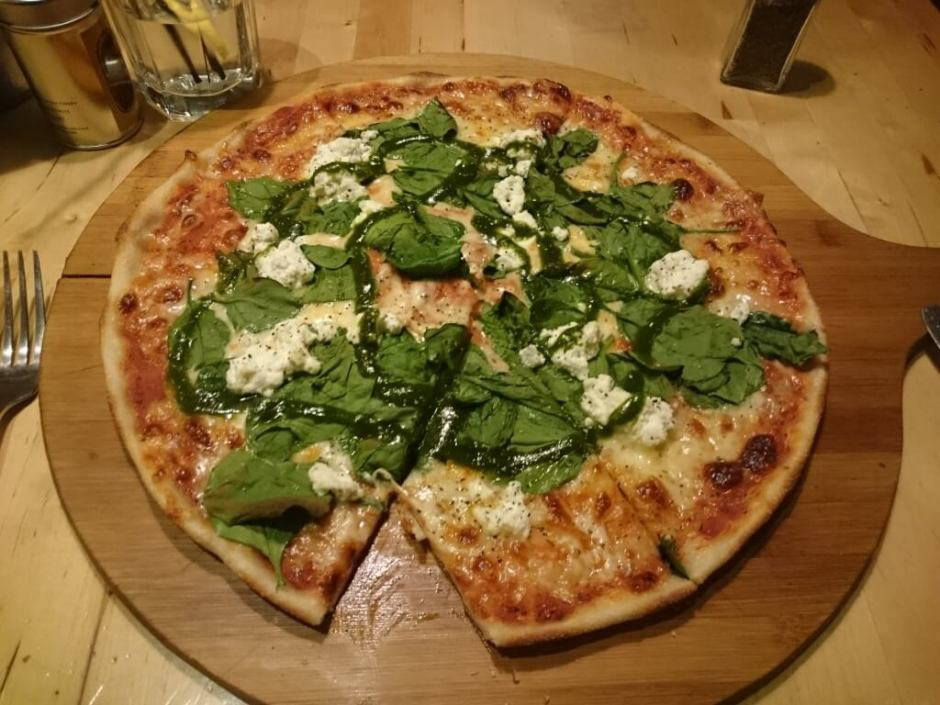 No, no, believe it or not, this is just a pizza, not the planet Mercury!