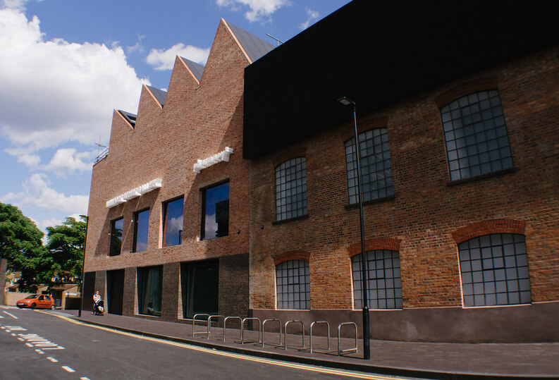 Newport Street Gallery is the conversion and transformation of a street facing a railway line in Vauxhall, south London, into a free public gallery for artist Damien Hirst's private art collection.