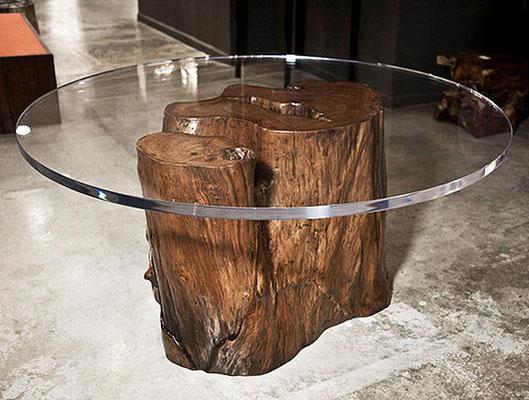 столик из пенька