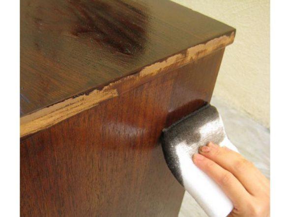 Armarios deslizantes 3 Puerta de madera