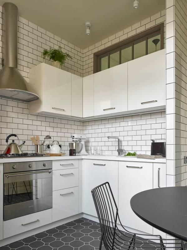 Дизайн кухни площадью 6 кв.м – фото примеры интерьера ...