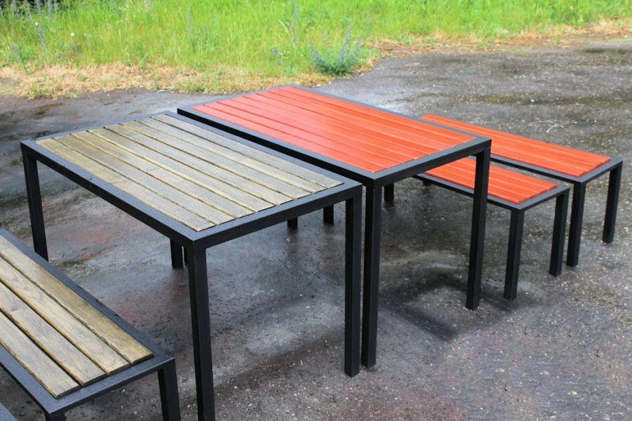 дачная мебель из профиля