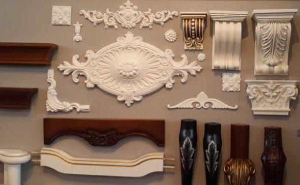 Виды декора для мебели