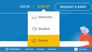 Schoology Parent Sign Up