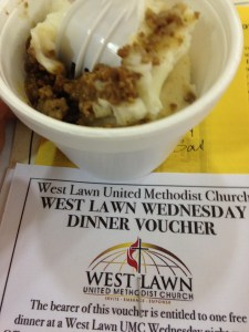 Shepherd's Pie - West Lawn Methodist