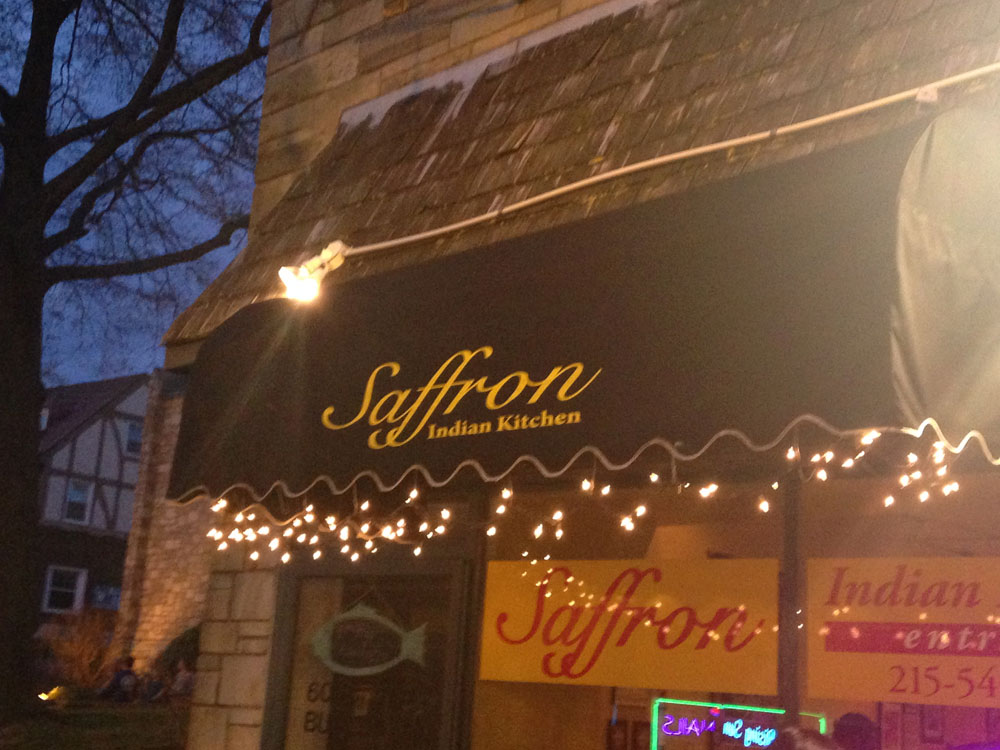 Road Trip: Saffron Indian Kitchen - Ambler