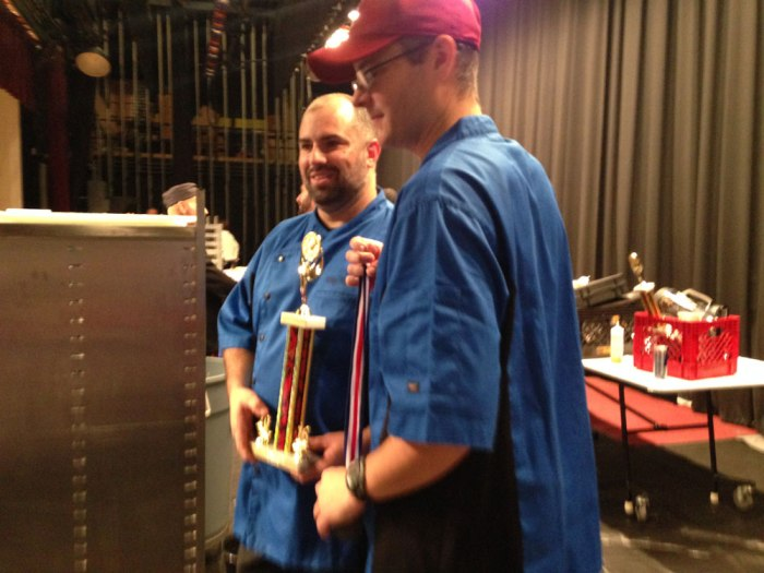 Chef Michael Martino: two-time champion.