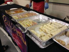 """Bella's brought its signature """"Grandma"""" pizza and select hoagies to the People's Choice competition."""