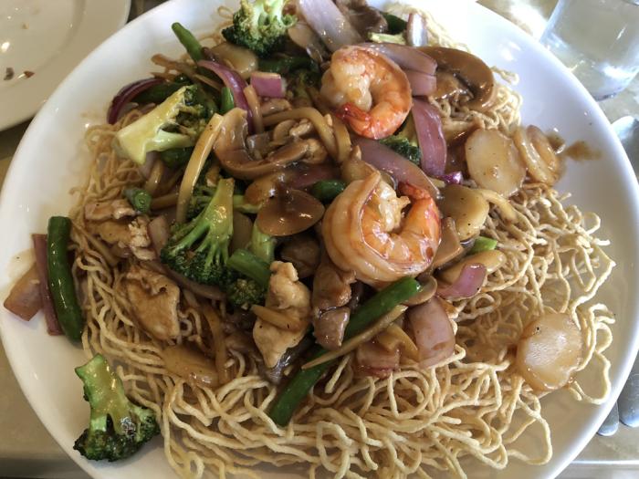 Crispy Noodle Stir Fry - Lang Restaurant