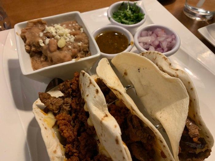 Alebrije Steak and Chorizo Tacos